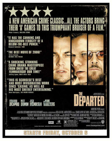 The Departed 11x17 Movie Poster (2006)