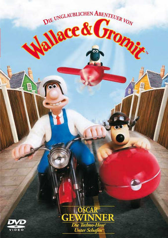 Wallace & Gromit: The Best of Aardman Animation (German) 27x40 Movie Poster (1996)