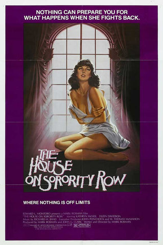 House on Sorority Row 11x17 Movie Poster (1983)