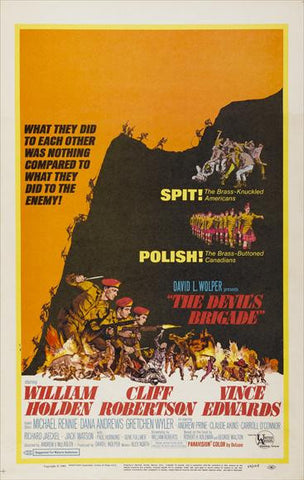 The Devil's Brigade 27x40 Movie Poster (1968)
