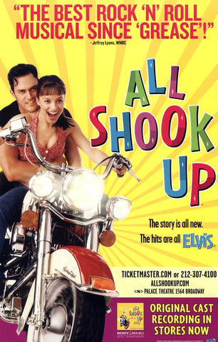 All Shook Up 27x40 Broadway Show Poster