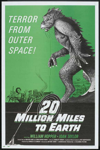 20 Million Miles to Earth 11x17 Movie Poster (1957)