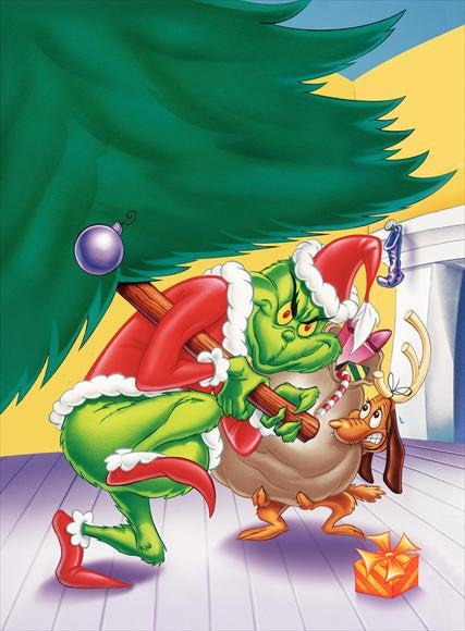 How The Grinch Stole Christmas 1966.How The Grinch Stole Christmas 27x40 Movie Poster 1966