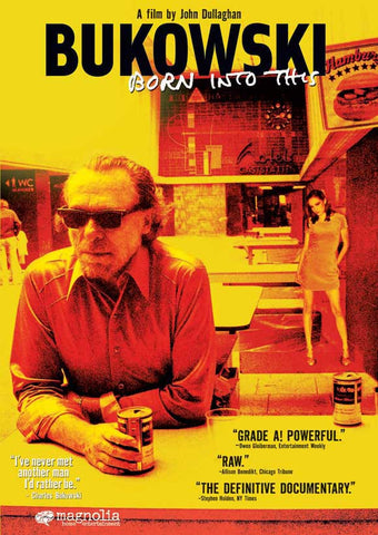 Bukowski: Born Into This 27x40 Movie Poster (2003)