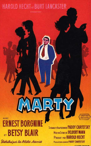Marty (French) 11x17 Movie Poster (1955)