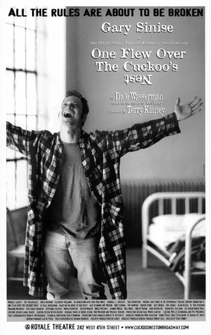 One Flew Over the Cuckoo's Nest 11x17 Broadway Show Poster (2001)