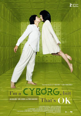 I'm a Cyborg, But That's OK 11x17 Movie Poster (2006)