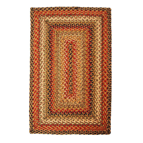 Kingston Braided Jute Rectangle Rug
