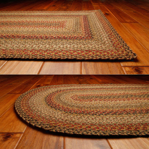 Kingston Braided Jute Oval Rug