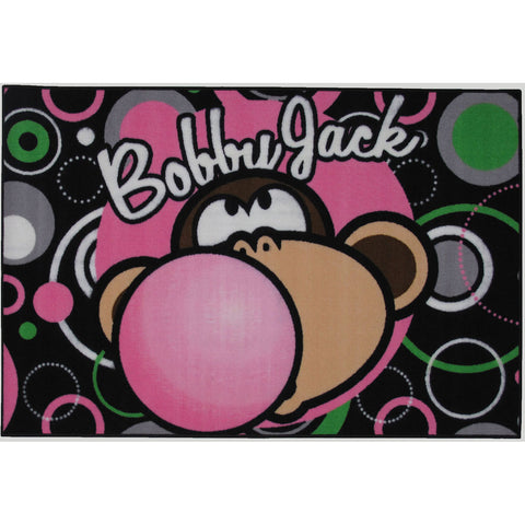 Fun Rugs Bobby Jack Collection Bubble Gum Area Rug