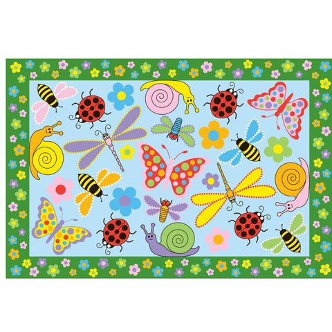 Fun Rugs Fun Time Collection Exotic Creatures Area Rug