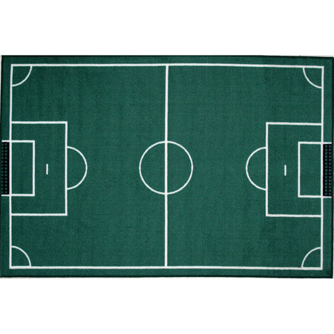Fun Rugs Fun Time Collection Soccerfield Area Rug