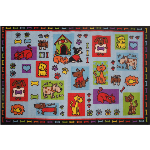 Fun Rugs Fun Time Collection Pets R Us Area Rug
