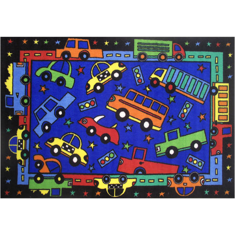 Fun Rugs Fun Time Collection Bip Bip Area Rug