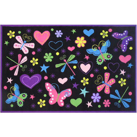 Fun Rugs Fun Time Collection Exotic Nature Area Rug