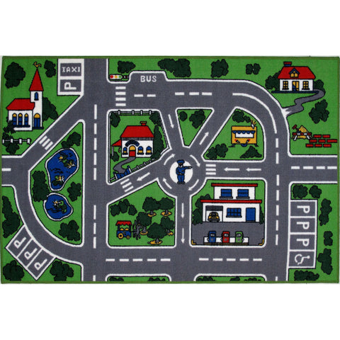 Fun Rugs Fun Time Collection Streets Area Rug