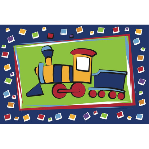 Fun Rugs Fun Time Collection Choo Choo Train Area Rug