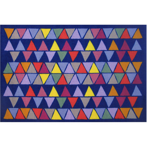 Fun Rugs Fun Time Collection Pyramid Party Area Rug