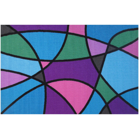Fun Rugs Fun Time Collection Wave Runner Area Rug