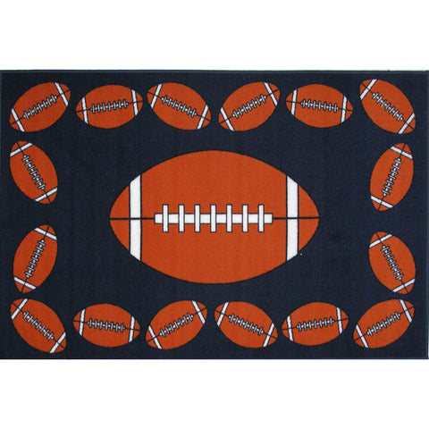 Fun Rugs Fun Time Collection Football Time Area Rug