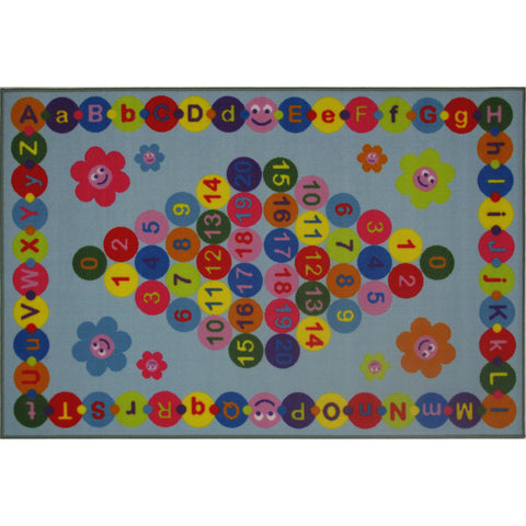 Fun Rugs Fun Time Collection Happy Learning Area Rug