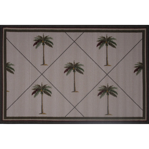 Fun Rugs Fun Time Collection Palm Fronds Area Rug