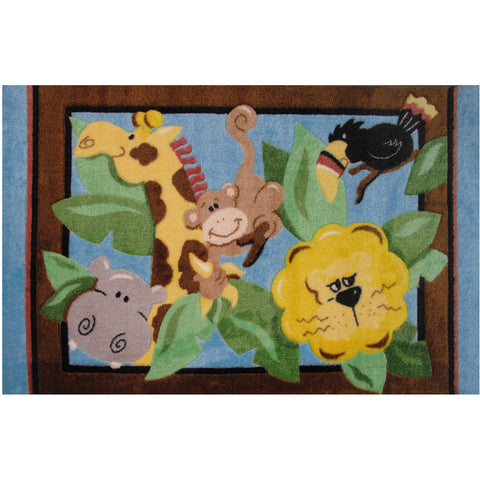 Fun Rugs Jade Reynolds Collection In The Jungle Area Rug
