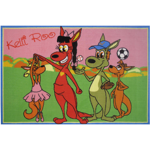 Fun Rugs Kelli Roo Collection Dancing Area Rug