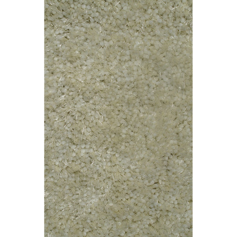 LA Rugs Super Shag Collection Cream Area Rug