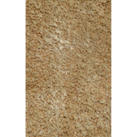 LA Rugs Super Shag Collection Beige Area Rug