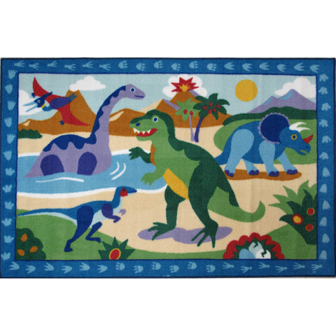 Fun Rugs Olive Kids Collection Dinosaurland Area Rug