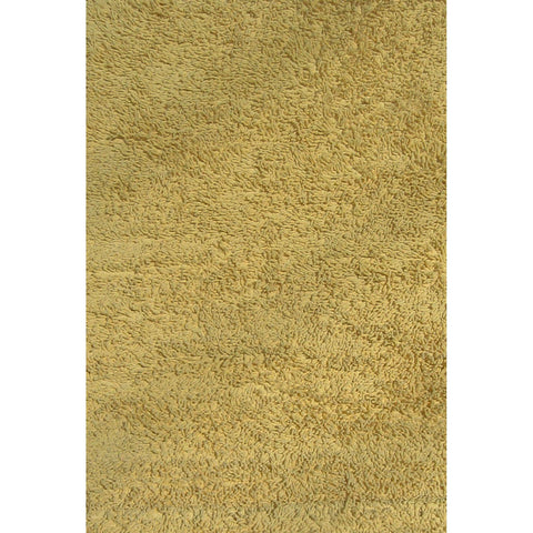 Fun Rugs Fun Shags Collection Yellow Area Rug