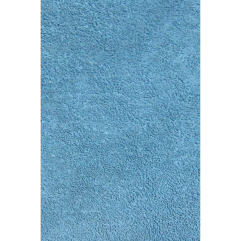 Fun Rugs Fun Shags Collection Light Blue Area Rug