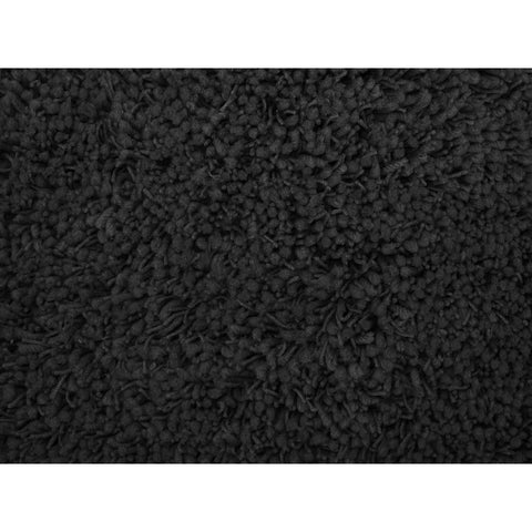 LA Rugs Shag Plus Collection Black Area Rug
