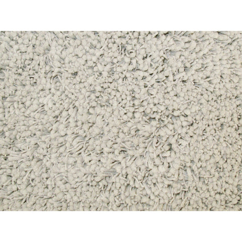 LA Rugs Shag Plus Collection White Area Rug