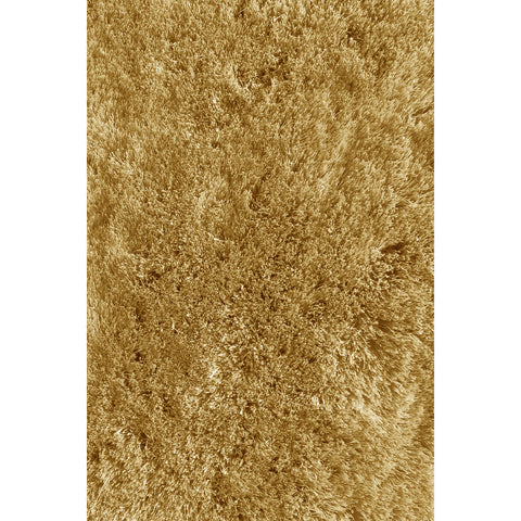 LA Rugs Soft Shaggy Collection Light Brown Area Rug