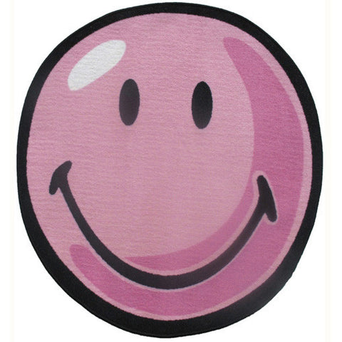Fun Rugs Smiley World Collection Pink Area Rug