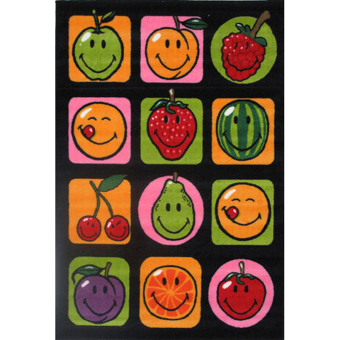Fun Rugs Smiley World Collection Fruitti Area Rug