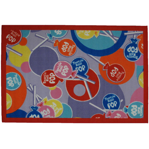 Fun Rugs Tootsie Roll Collection Pop Area Rug