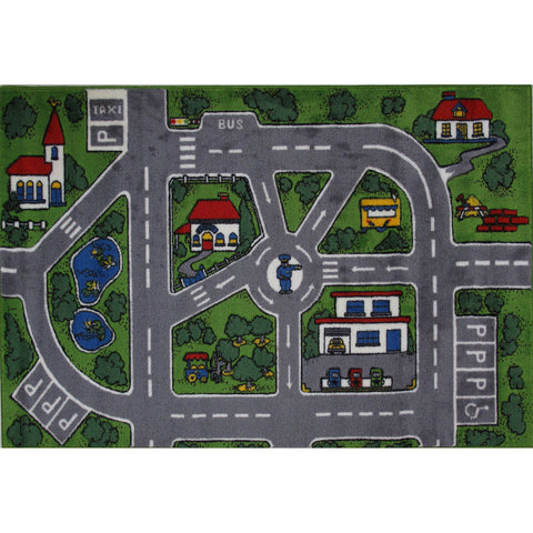Fun Rugs Supreme Collection Streets Area Rug