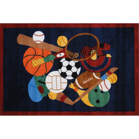 Fun Rugs Supreme Collection Sports America Area Rug