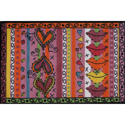 Fun Rugs Fun Time Shape Collection Freeway 5 Sign Area Rug