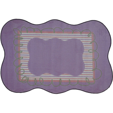 Fun Rugs Supreme Collection Girls Scalloped Area Rug