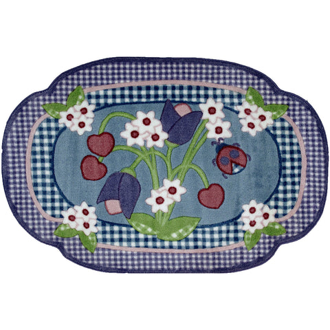 Fun Rugs Fun Time Shape Collection Tractor Area Rug