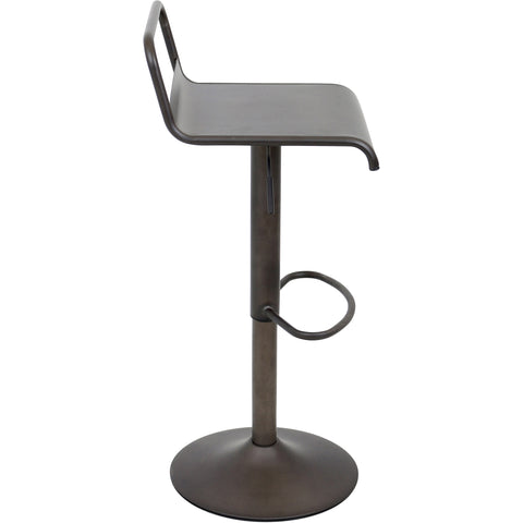 Emery Barstool, Antique Finish
