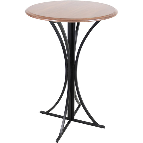 Cosi Barstool, Walnut/Brown