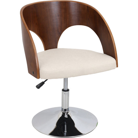 Neo Flair Chair (Set of 2), Cappuccino/Espresso