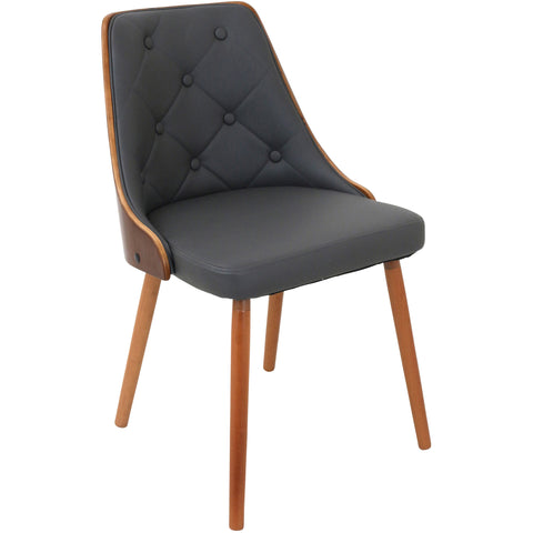 Neo Flair Chair, Amber/Copper