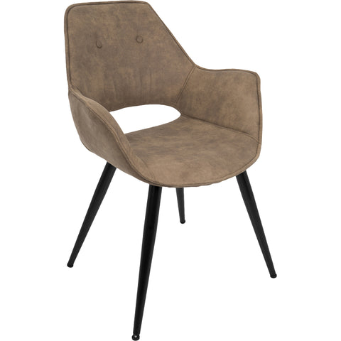 Ostend Occasional Chair Saddle Brown