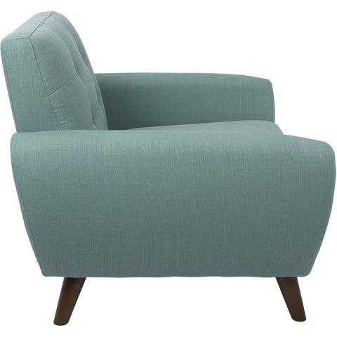Hemingway Mid-Century Modern Accent Chair, Teal